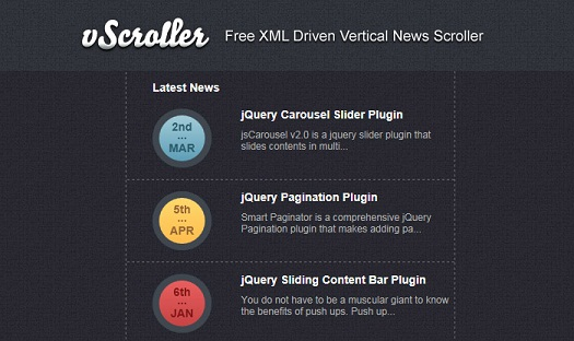 free-xml-driven-vertical-news-slider-plugin