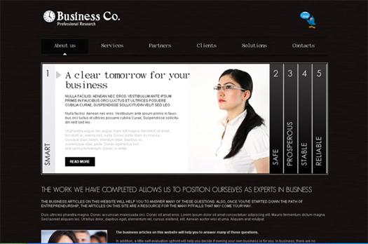 free professional business template