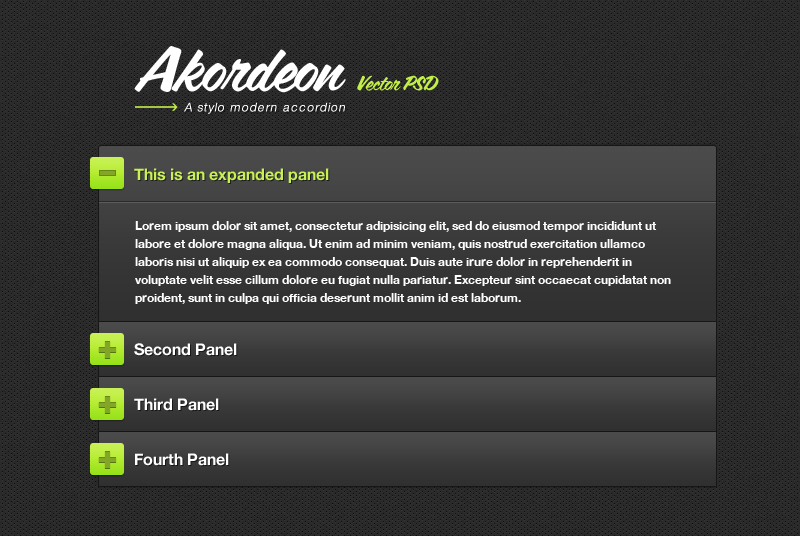 jQuery Akordeon Plugin