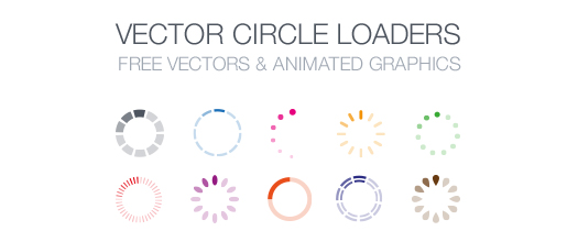 Free-Vector-Circle-Loaders