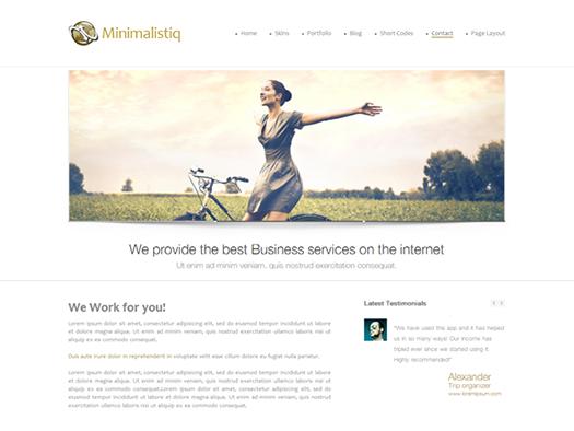 Free-Premium-Responsive-WordPress-Theme-Minimalistiq