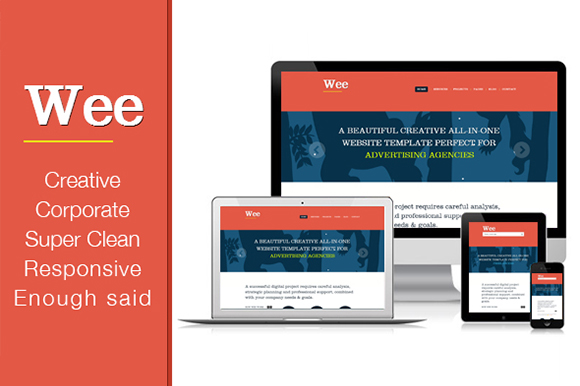 A Premium Responsive Portfolio Business HTML Template Wee