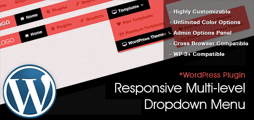 A Responsive Multi Level Dropdown Menu Plugin With Icons For WordPress: WPBootM