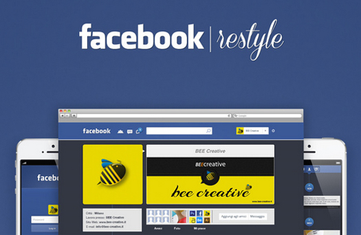 Facebook Restyle By Claudio Sabatinelli