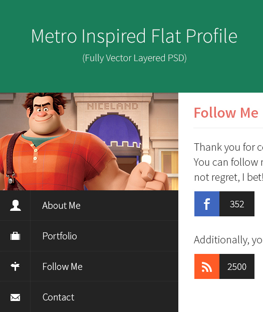 metro-style-inspired-flat-profile-psd