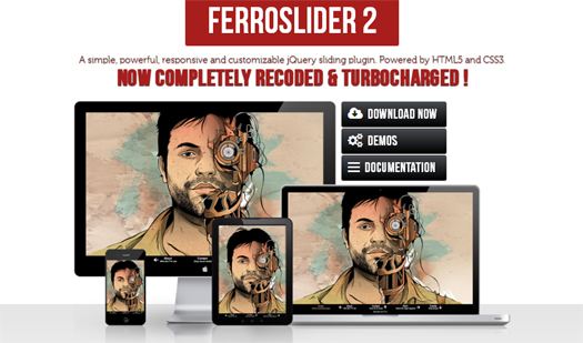 A Simple, Responsive and Customizable jQuery Slider Plugin - FerroSlider 2