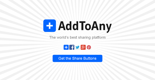 AddToAny Share Buttons, Social Share Buttons and Icons
