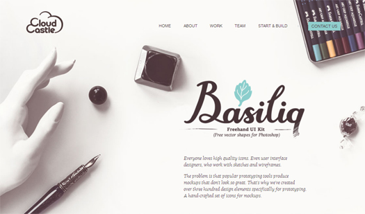 Basiliq Freehand UI Kit