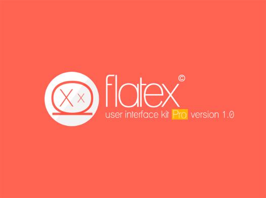 Flatex UI Kit Pro - FREE