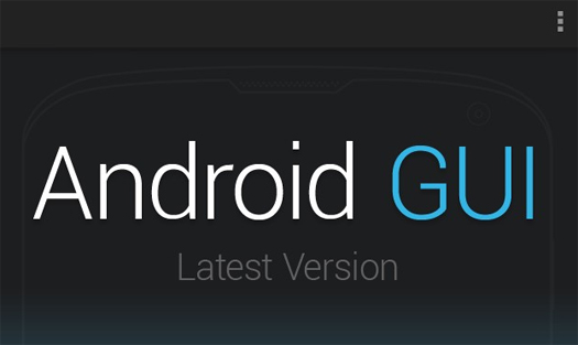 Fully Editable Android GUI DesignShock