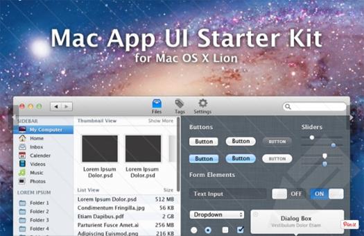 Mac App UI Starter Kit