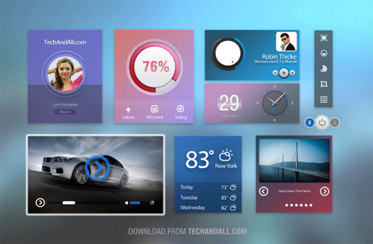 User Interface UI kit