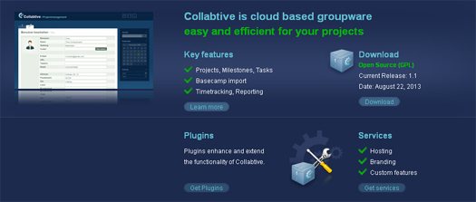 Open Source Collaboration Tool - Collabtive