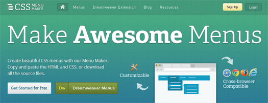 CSS-Menu-Maker