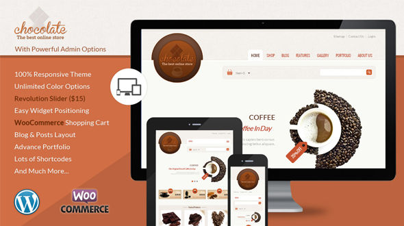 Chocolate Theme EGrappler.com
