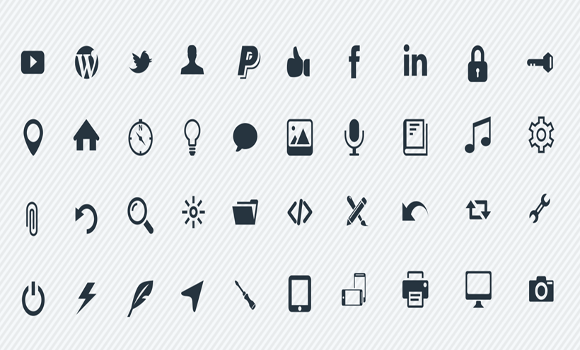 High- resolution Vector Icons