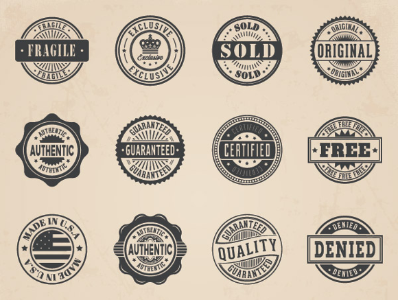 business-vector-badges