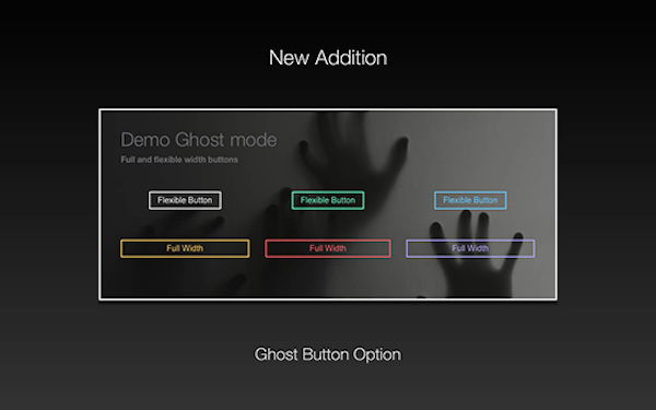 Ghost-Buttons