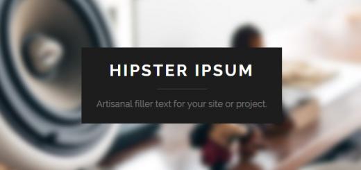 hipsteripsum