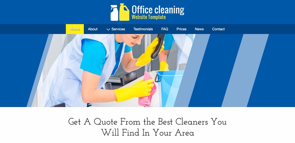Office Cleaning Theme