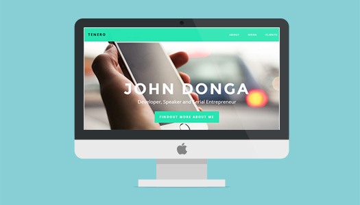 free-responsive-portfolio-single-page-template-tenero-featured